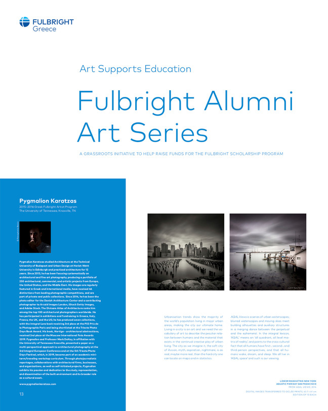 Fulbright Alumni Art Series 2020 edition