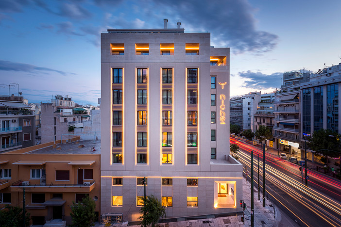 Photo shoot of the day - Niche Hotel Athens