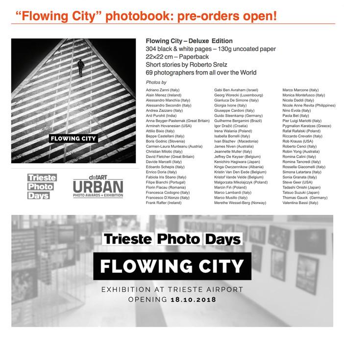 'Flowing City' photobook & collective exhibition
