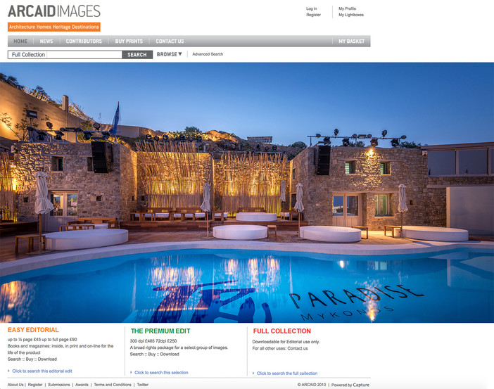 TRU Paradise Mykonos on Arcaid Images