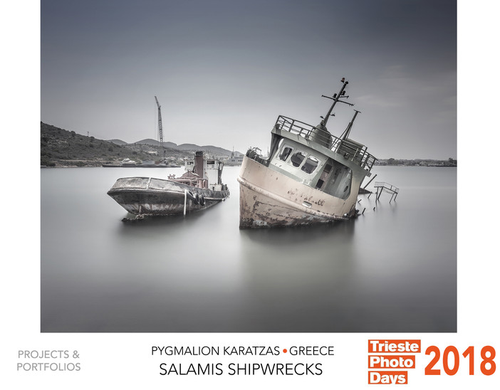 'Salamis shipwrecks' selected at the Trieste Photo Days 2018