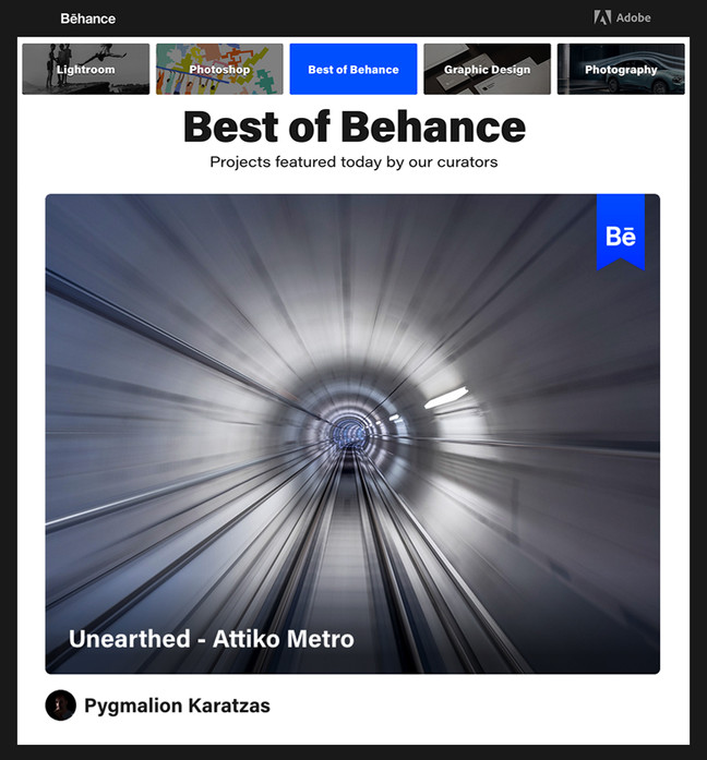 Unearthed - Attiko Metro featured on Behance