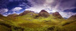 The three sisters, Highlands