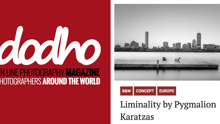 'Liminality' series featured on Dodho Magazine