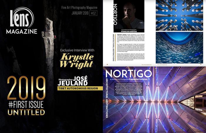 'Nortigo' series featured on Lens Magazine issue #52