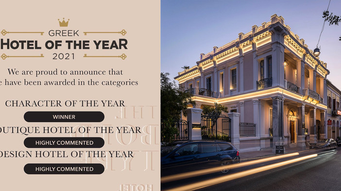 The 'Bold Type' Hotel among the Greek Hotel of the Year 2021