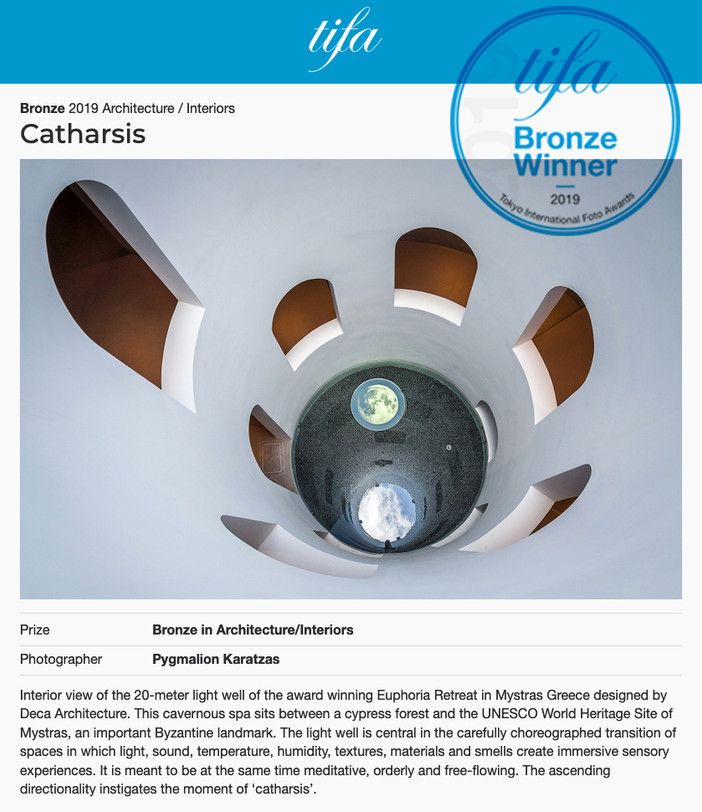 Bronze for 'Catharsis' at TIFA 2019