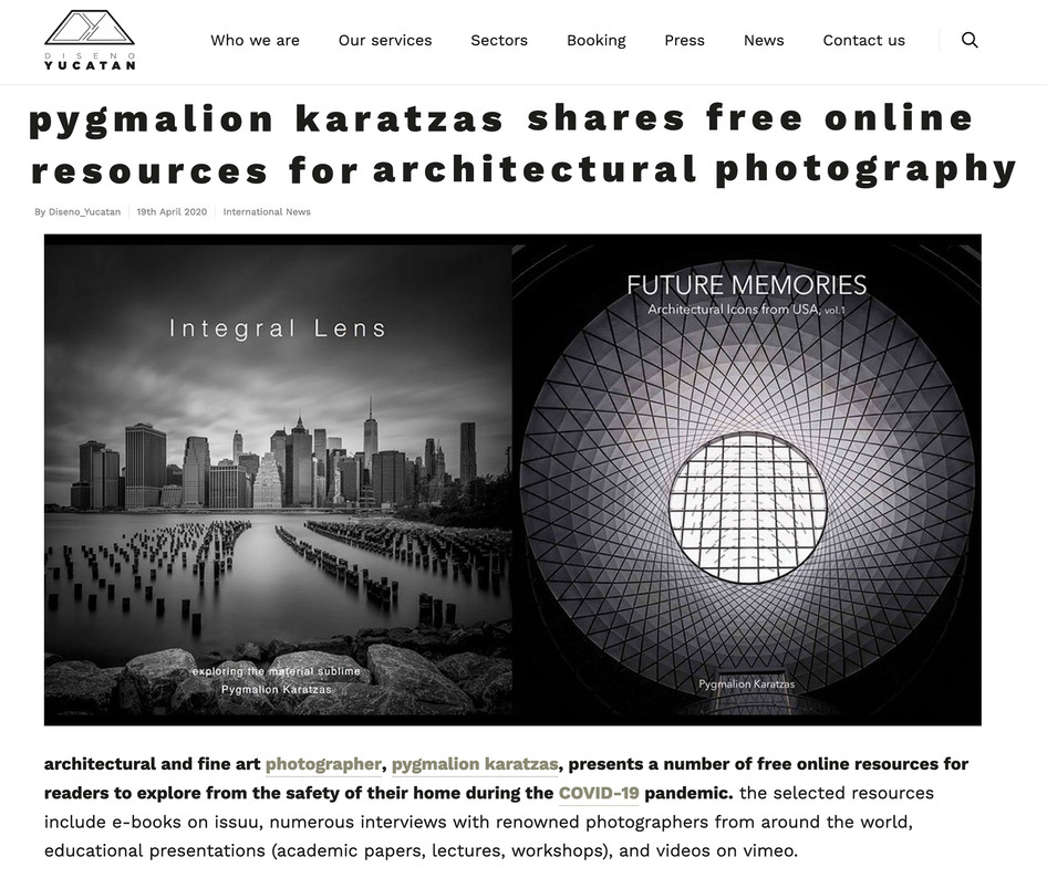 Diseno Yucatan features architectural photography resources