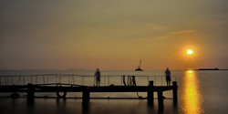 Spectrum4 Pier sunset