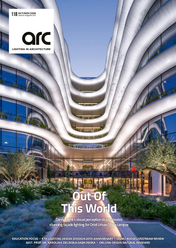 The Orbit cover story on ARC magazine