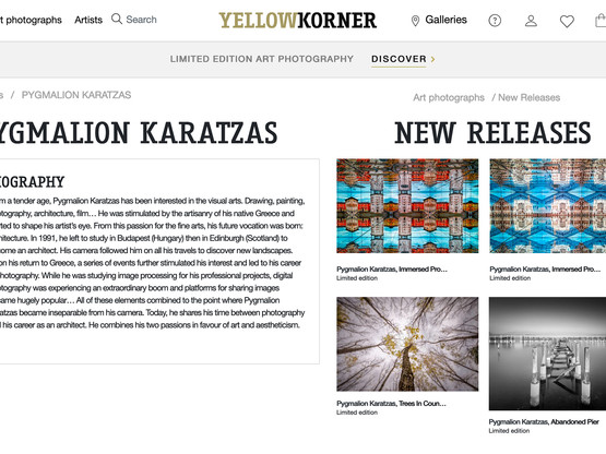 Fine Art prints available at Yellow Korner galleries