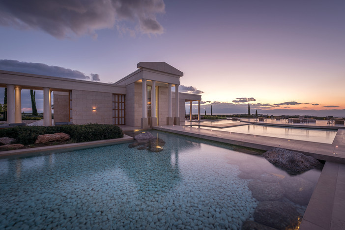 Preview from photo shoot of the day - Amanzoe in Porto Heli