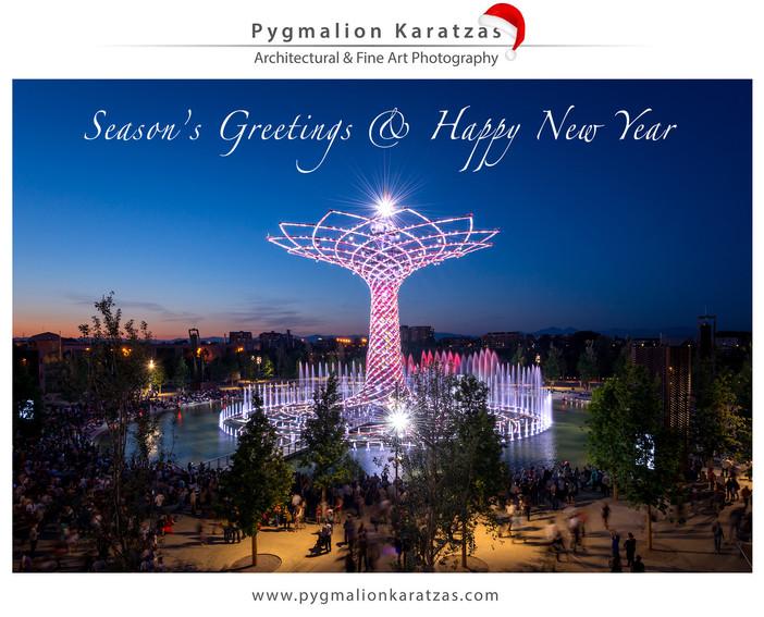 Season's greetings & Happy New Year