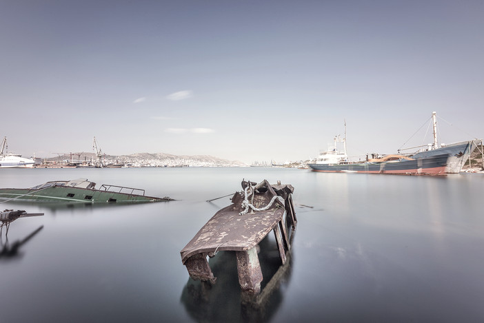 In the field with the OCEANUS team - ancient Salamis port