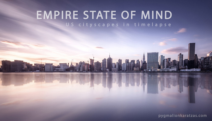 Time lapse video from U.S. cityscapes
