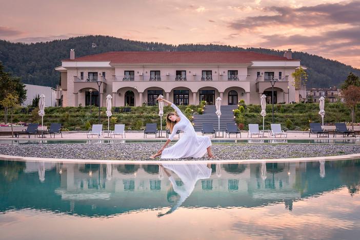 Photo shoot of the day - The Lake Hotel Ioannina