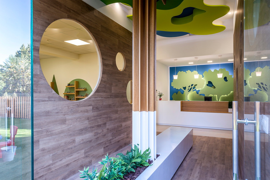 Photo shoot of the day - Nursery 'MHTERA' by Office 25 Architects