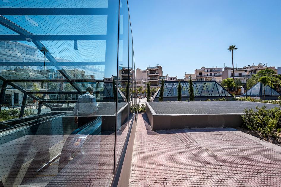 Photo shoot of the day - Three Metro Plazas in Athens