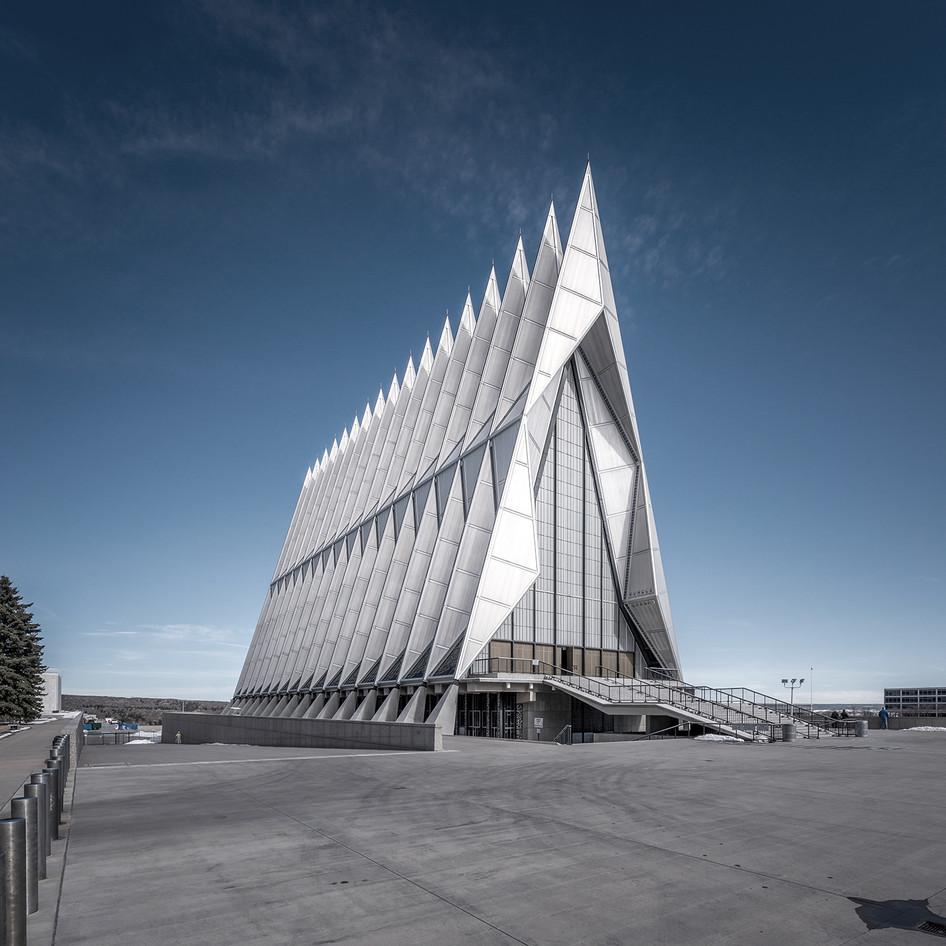 USAFA Cadet Chapel featured on Divisare Atlas of Architecture