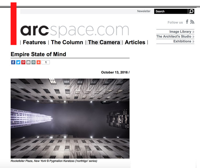 'Empire State of Mind' on Arcspace.com