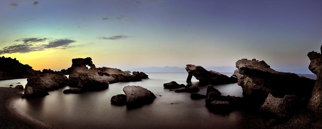 Diakofto bay, Achaea