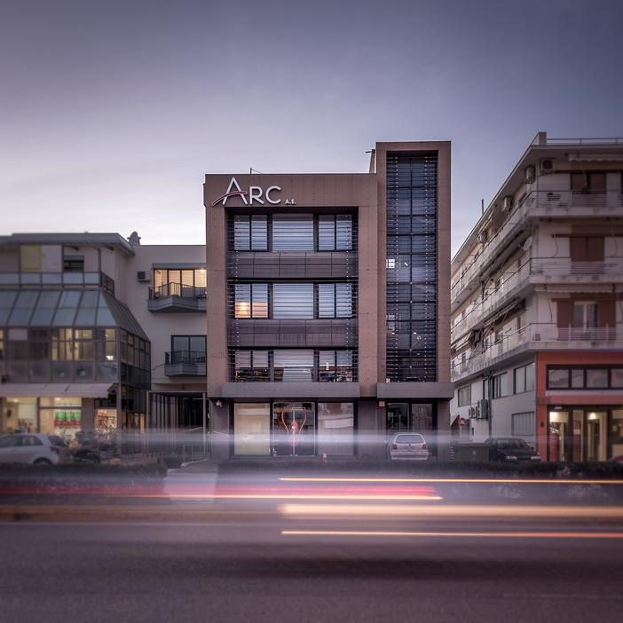 Photo shoot of the day - ARC Sergiannidis offices by Nikos Mourikis
