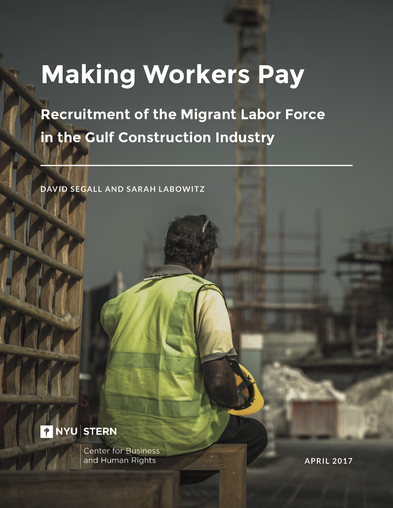 Report - Making Workers Pay - Under Embargo Through April 11