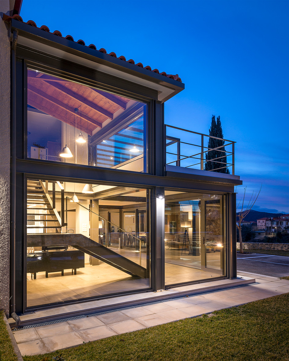 Photo shoot of the day - Residential addition in Vresthena Laconia