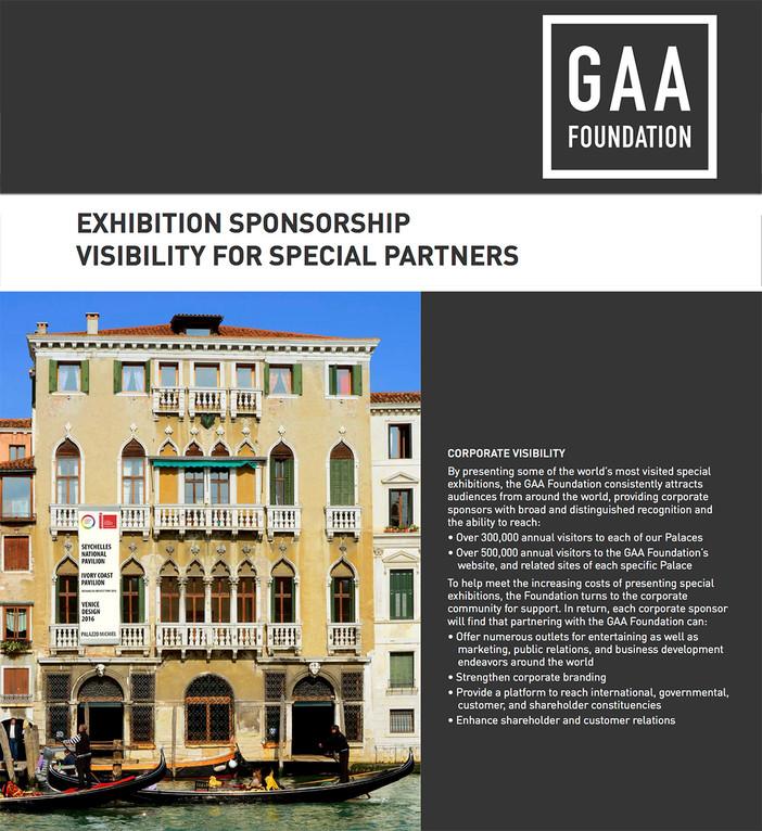 Open invitation for exhibition sponsorship