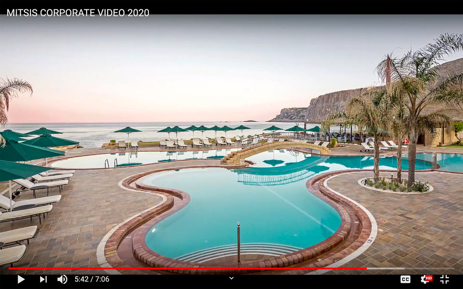 Mitsis Hotels Corporate video 2020