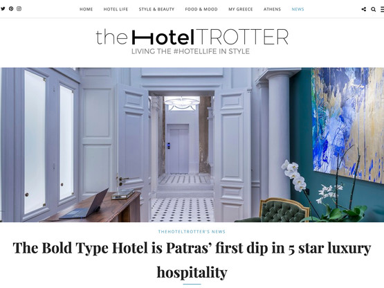 The Bold Type Hotel featured on The Hotel Trotter
