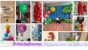 Los globos que llenan de alegría las redes sociales