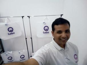 "Jonahtan Navas: La cara detrás de la nueva lavandería ""Labo"""