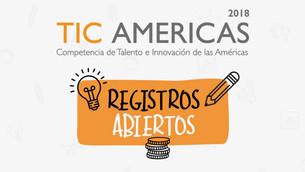Registros abiertos de TIC Americas 2018 y Eco-Reto 9.0