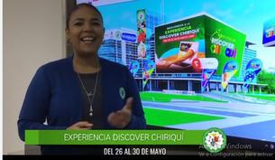 Llegó el momento de vivir una Experiencia Discover Chiriquí (MAY26 al 30)