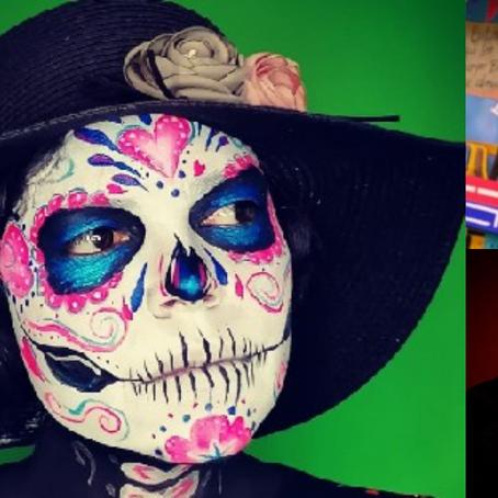 Ana Zárate demuestra su talento con el maquillaje y destaca en México