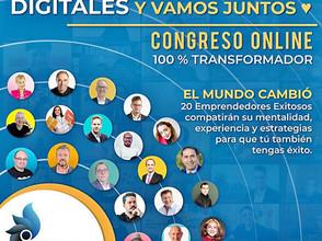"""Evento """"Somos emprendedores digitales"""" Mayo 14-16 2021"""