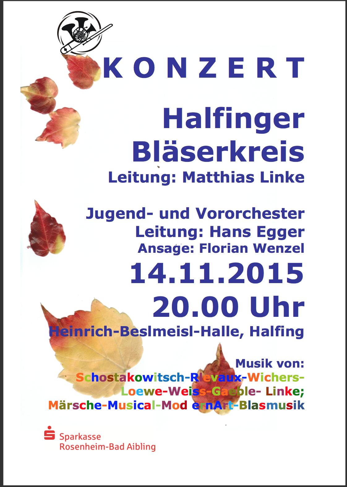 Herbstkonzert 2015