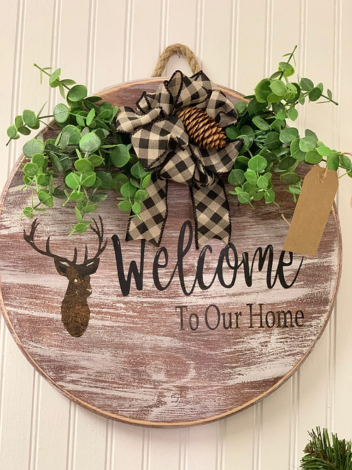 Welcome - Door Hanger