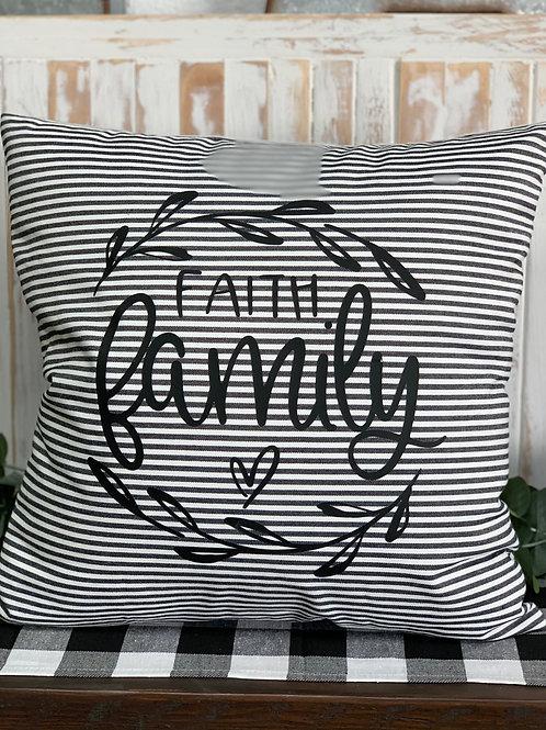 Faith Family - Pillow