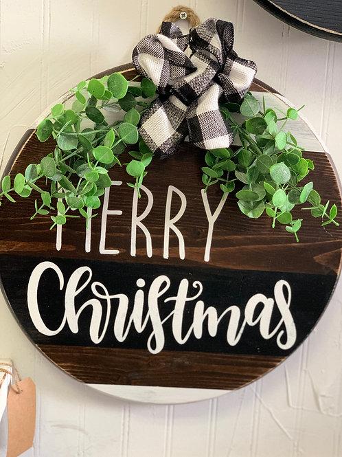 Merry Christmas - Door Hanger