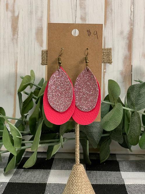 Dual Pink Earrings