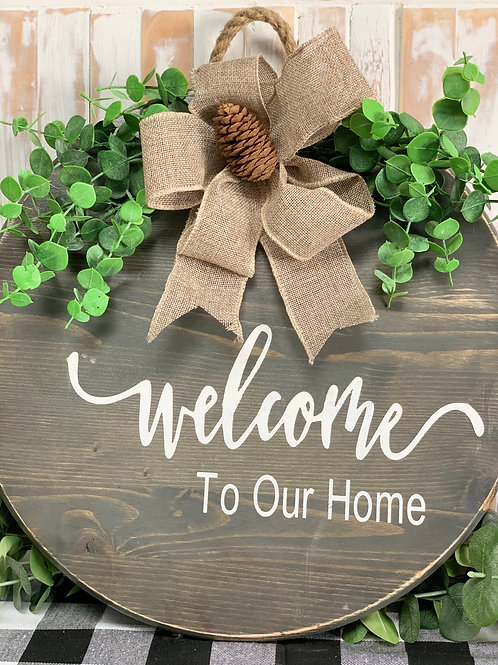 Welcome - Door Hanger