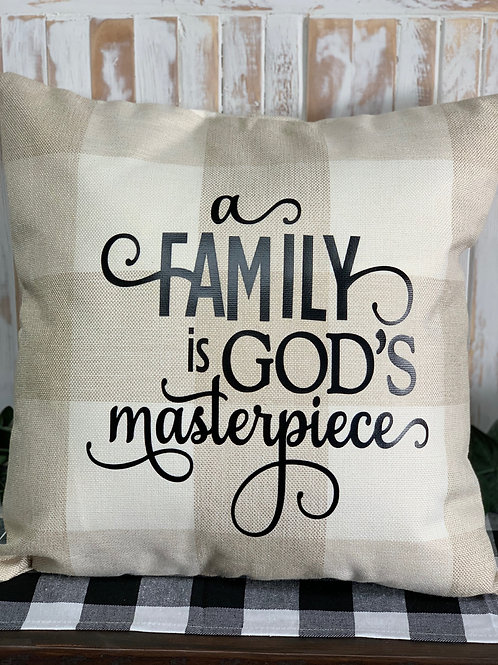 God's Masterpiece - Pillow