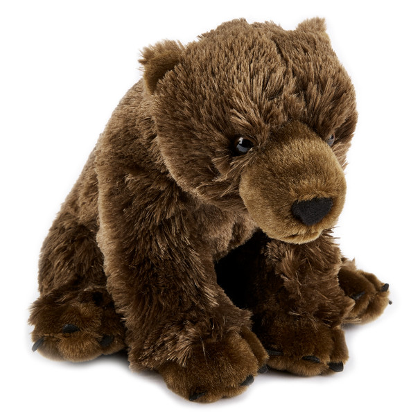BROWN BEAR MEDIUM PLUSH TOY