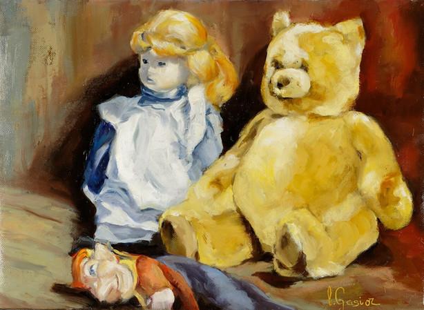 L'ours et la poupée
