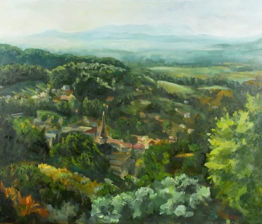 Vue du village Cadenet