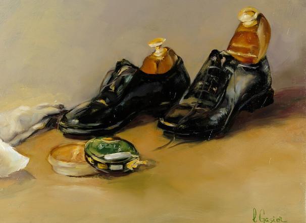 Les souliers cirés