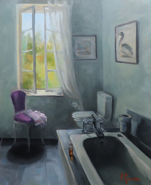 La salle de bain du domaine des Jasses