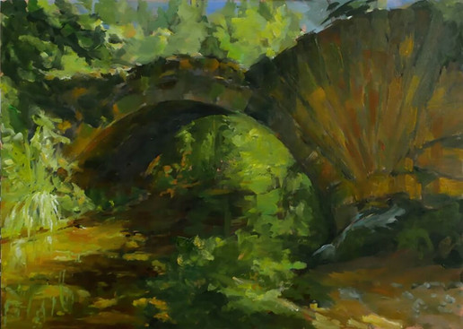 Le pont de l'Aiguebrun